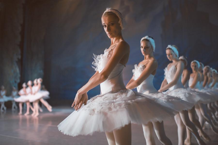 Пример съемки в театре балета
