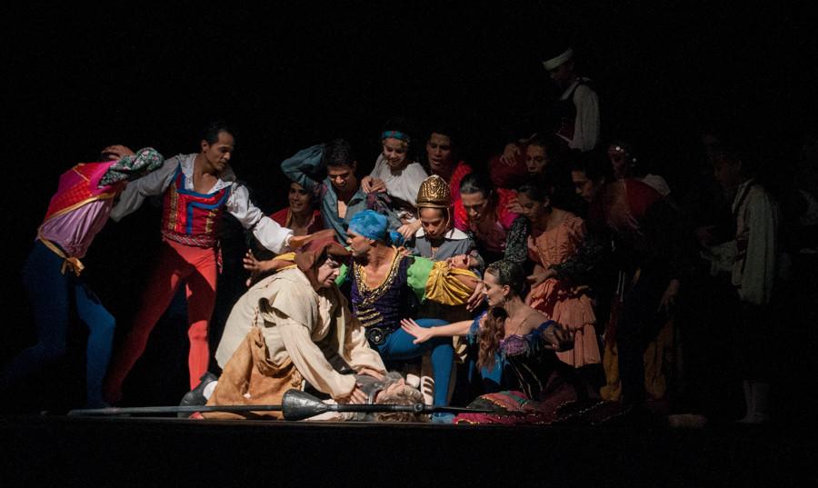 Пример съемки в театре