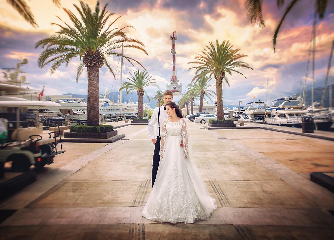 Художественная ретушь свадебного фото на заказ