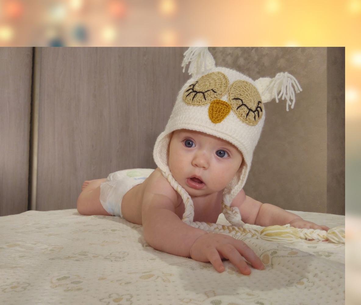 Фотомонтаж детского фото на заказ пример