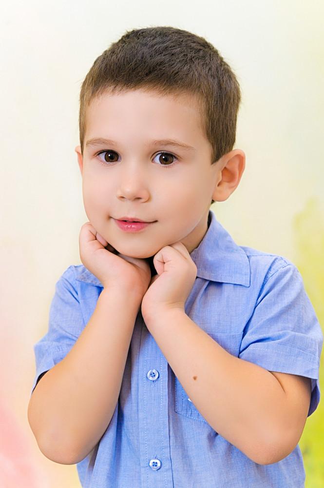 Детская ретушь на заказ пример