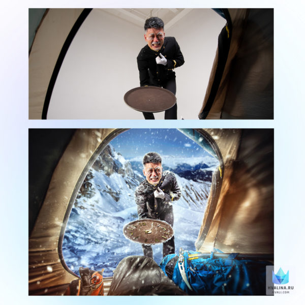 Профессиональная обработка, ретушь фото до и после