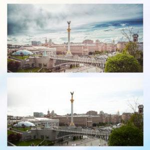 Заказать художественную, арт обработку фото пейзажа, архитектуры с примерами до и после, цена