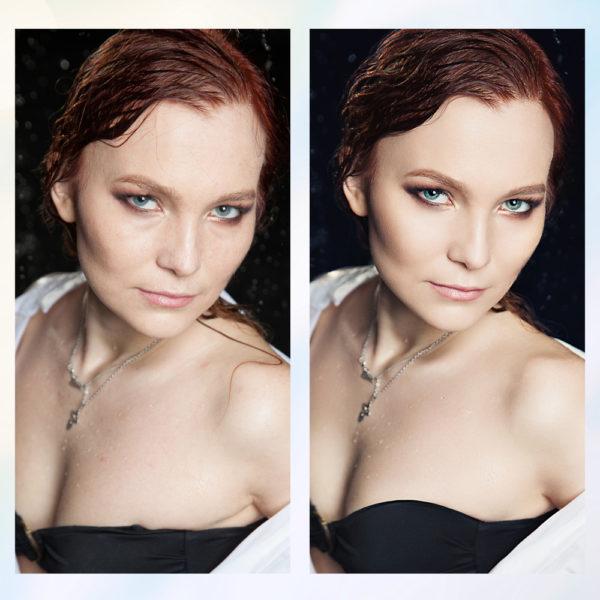 Заказать бьюти, журнальную, коммерческую ретушь фото с примерами до и после, цена