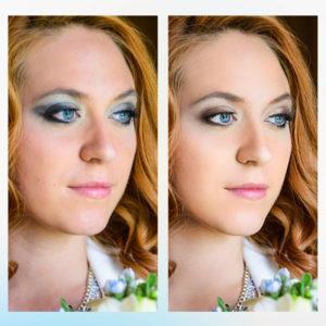 Заказать ретушь фото макияжа не дорого с примерами до и после, цена