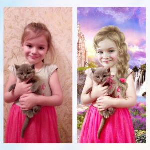 Заказать профессиональный фотомонтаж фото с примерами до и после, цена