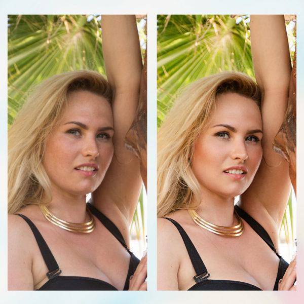 Заказать ретушь фото портрета с примерами до и после, цена