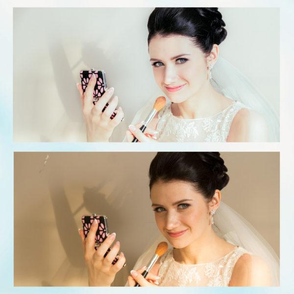 Заказать свадебную ретушь фото с примерами до и после, цена