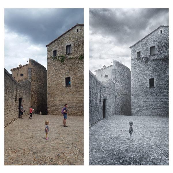 Художественная обработка архитектуры и ретушь фото, удаление объектов онлайн до и после