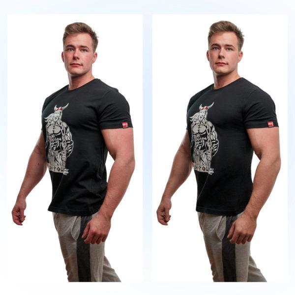 Ретушь одежды, футболки онлайн до и после